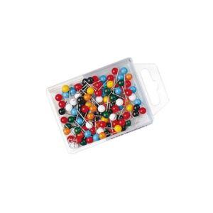 Táblatű Wedo gömbfejű színes 100 dob - Gombostűk bed74cd27a